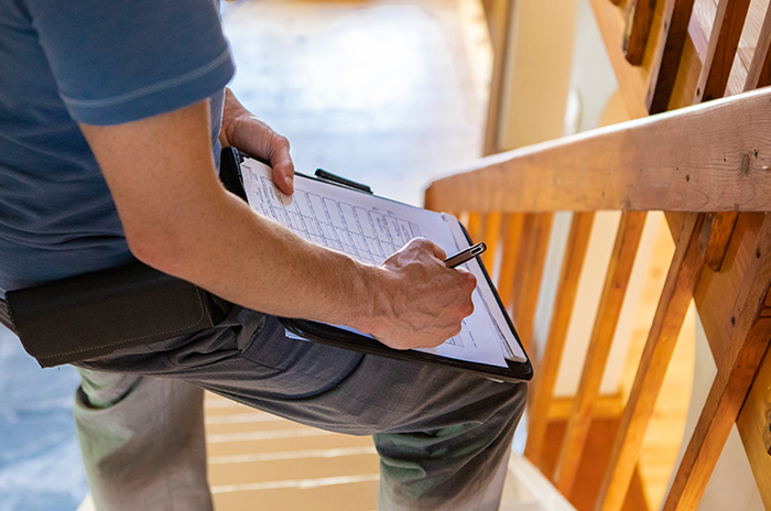 Home inspections look for problems in appliances fixtures and structure